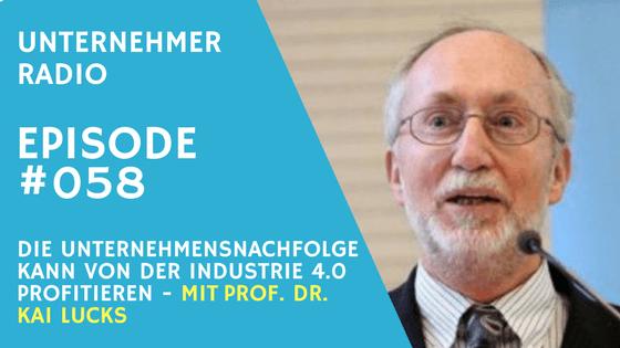 #058: Wie die Unternehmensnachfolge von der Industrie 4.0 profitieren kann