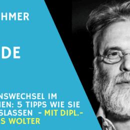Teaserbild Interview Hans Wolter - Loslassen beim Generationswechsel im Unternehmen