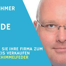 Teaserbild Interview mit Kai Schimmelfeder beim Unternehmer Radio zum Thema Firmenwert berechnen