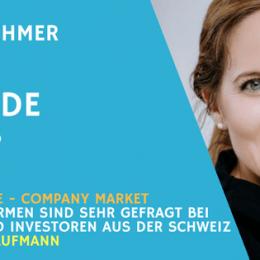 Teaser Interview mit Carla Kaufmann von Company Market für Unternehmer Radio.