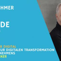 Teaserbild Unternehmer Radio Interview mit Ömer Atiker zu digitale Transformation von Firmen