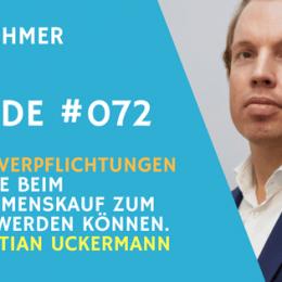 Teaser Bild Sebastian Uckermann beim Unternehmer Radio zum Thema Pensionsverpflichtungen