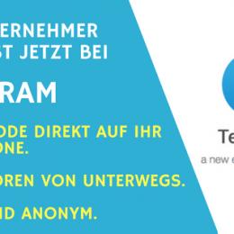 Das Unternehmer Radio ist bei Telegram