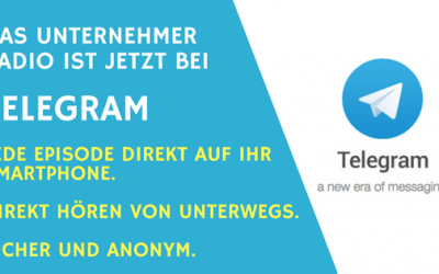 Episoden mit Telegram Messenger direkt auf ihr Smartphone