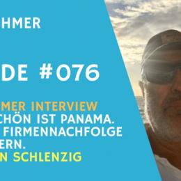 Teaserbild zu Firmennachfolge Interview mit Jürgen Schlenzig