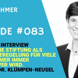 Teaser zum Interview mit Fr. Dr. Klümpen-Neusel