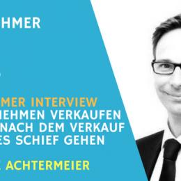 Teaser IT Unternehmen verkaufen mit Andre Achtermeier