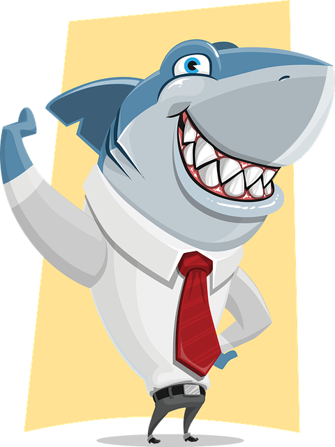Ein Hai im Anzug