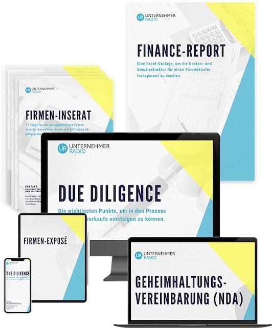Vorschaubild von Vorlagen zum Unternehmensverkauf